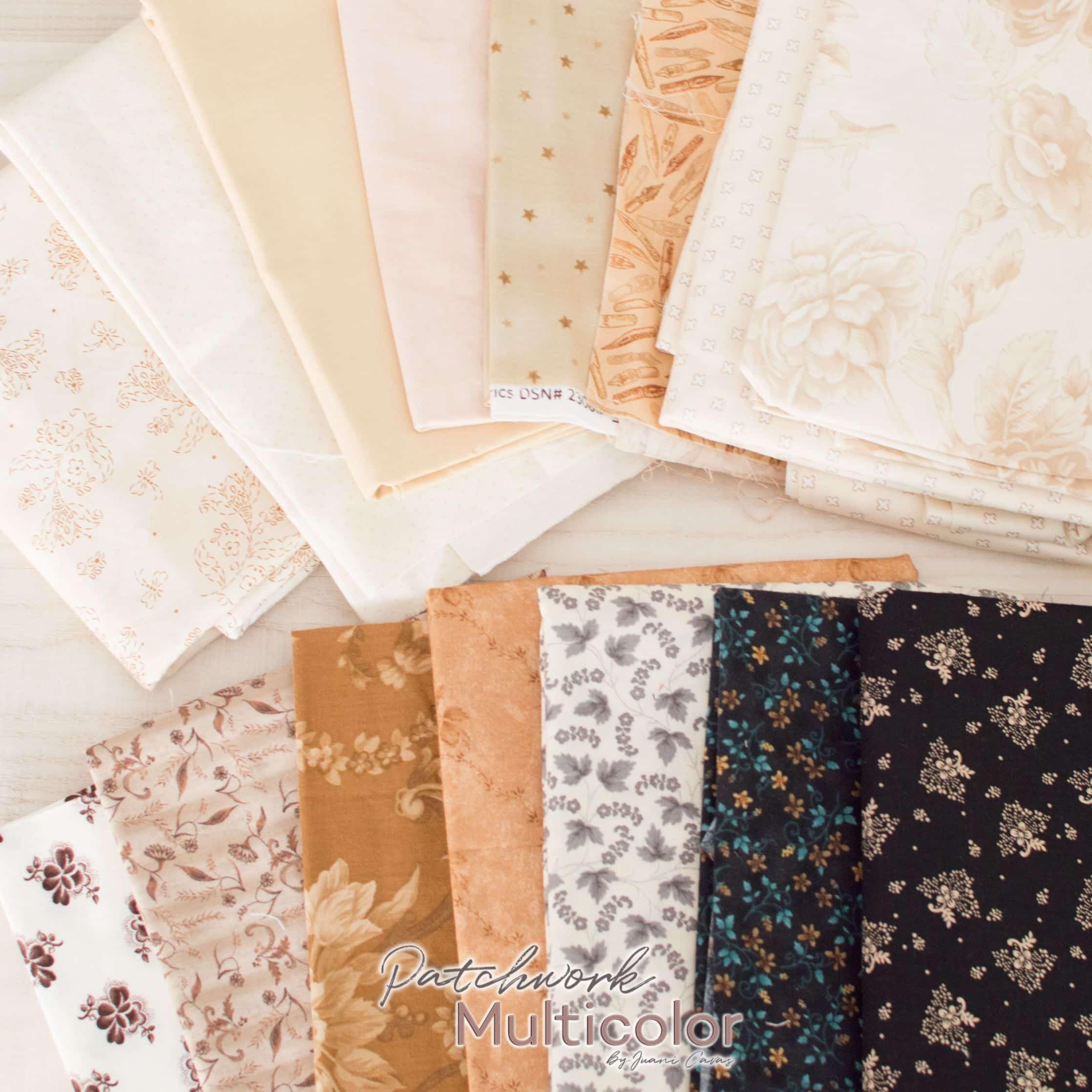 telas de patchwork clases y usos