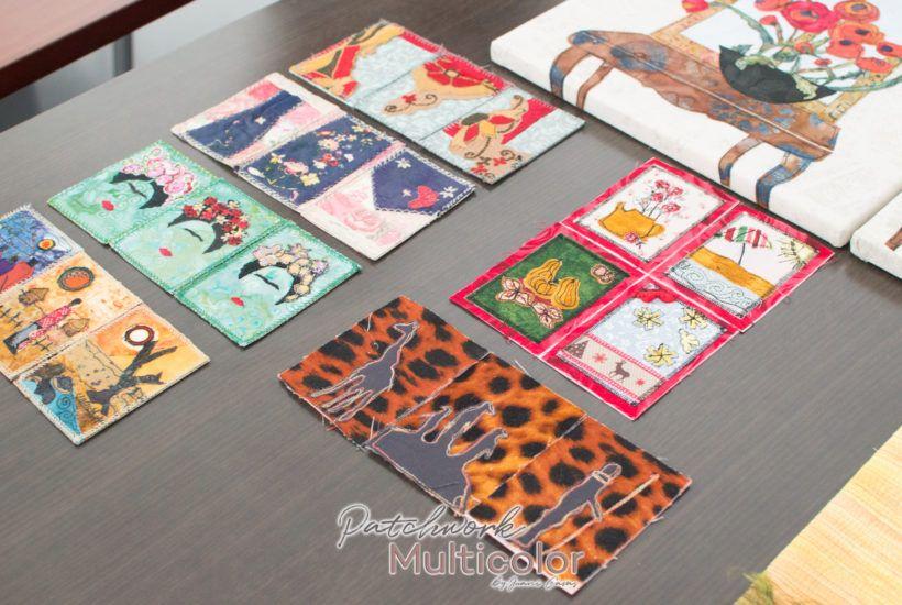 ATC, Artist Trading Cards, Alrededor del arte Textil