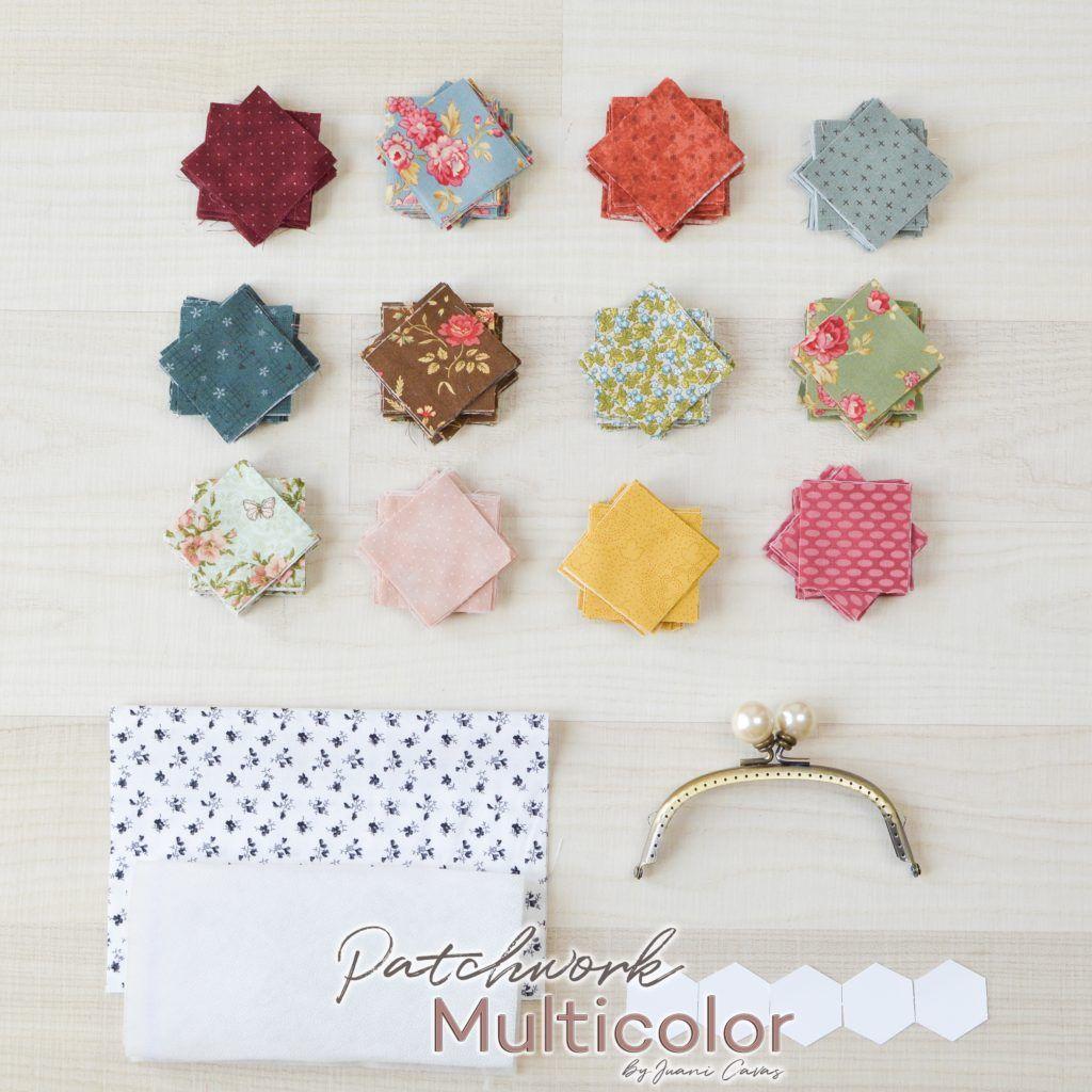 Monedero patchwork