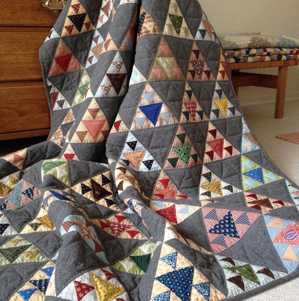 Kit quilt piramidal