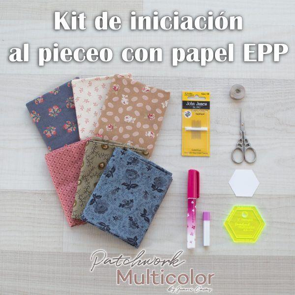 English Paper Piecing Kit de Iniciación