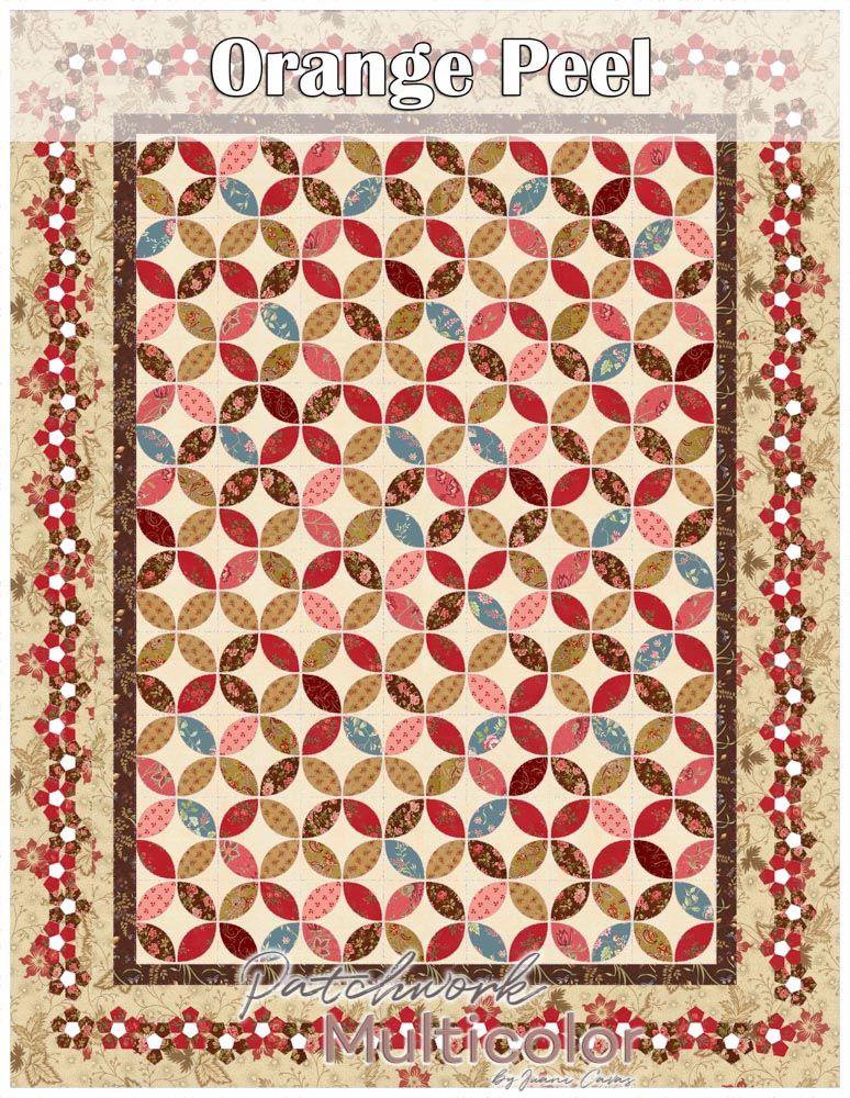 Patchwork Quilt con Aplicaciones de Flores