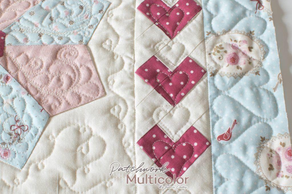 acolchado cojin patchwork