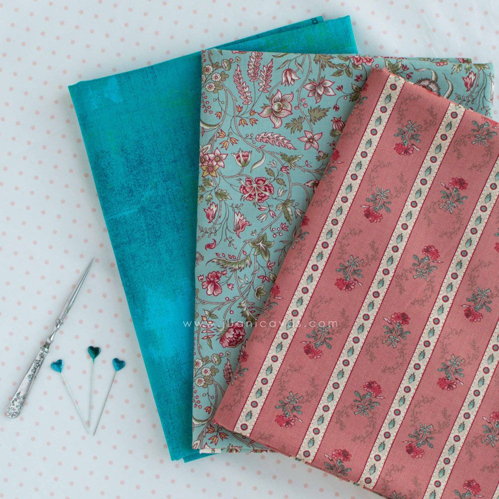 tela de patchwork regency romance moda fabrics