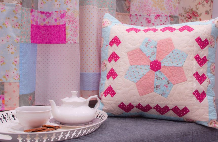 tutorial cojin de patchwork