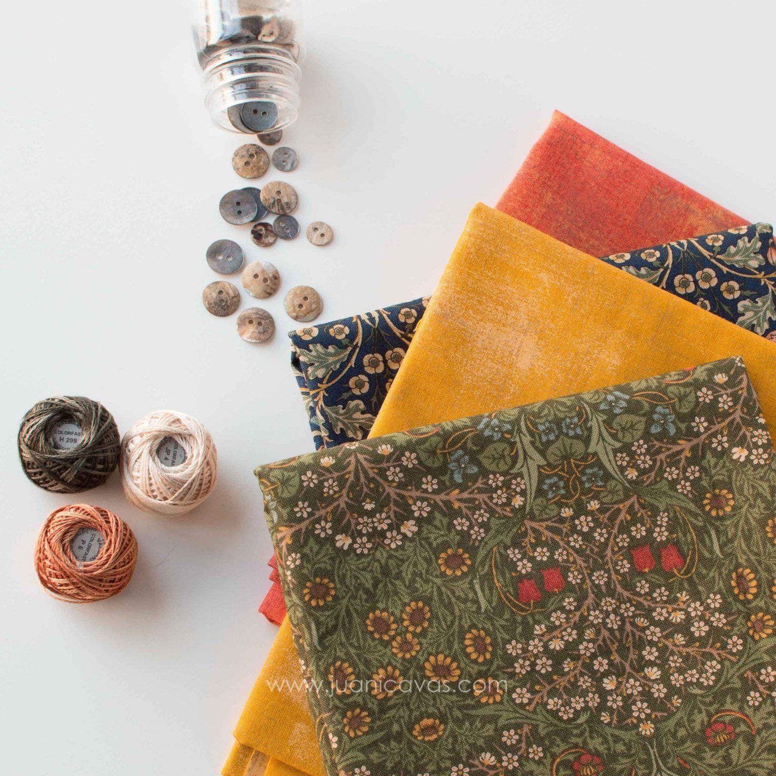 kit de telas de patchwork