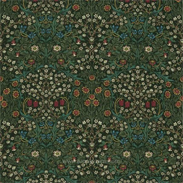 tela William Morris Blackthorn