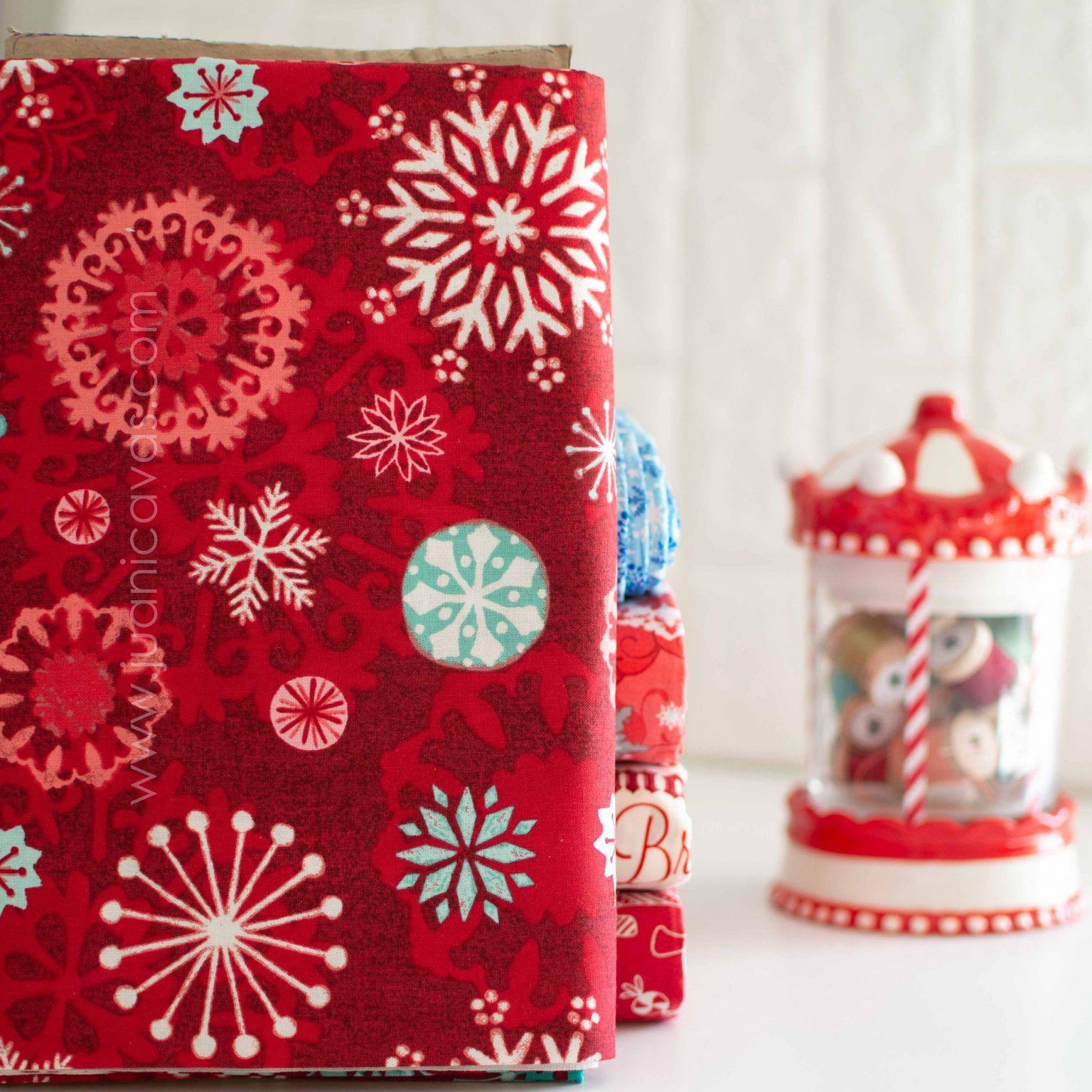 tela de navidad para patchwork