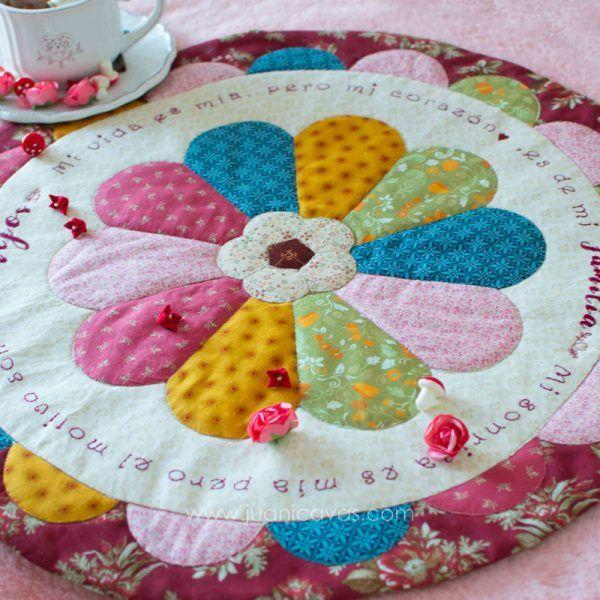 centro de mesa patchwork