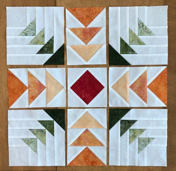 el vuelo de la oca patchwork