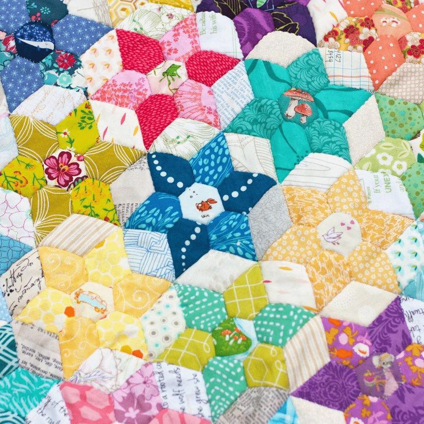 jardin de la sabana estrella patchwork